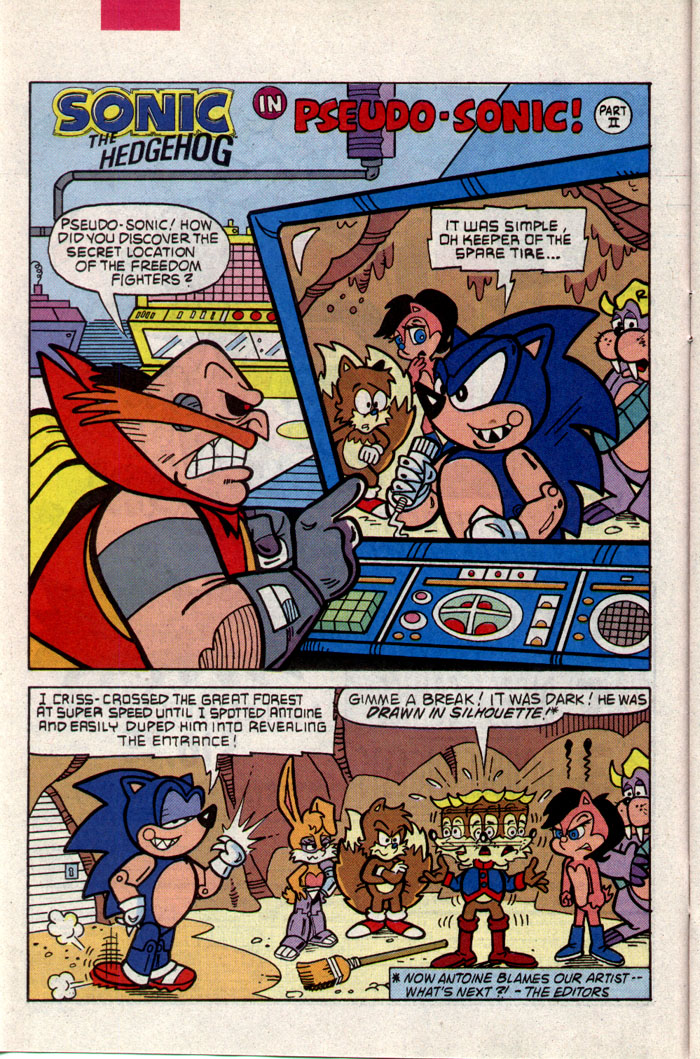 Read online Sonic The Hedgehog comic -  Issue #9 - 7
