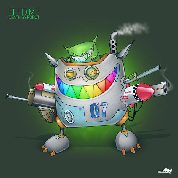 Feed Me - Death By Robot - Single Cover