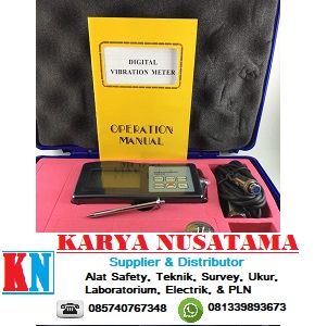 Jual Alat Ukur Getaran Vibration Meter LCD VM-6360 di Makasar