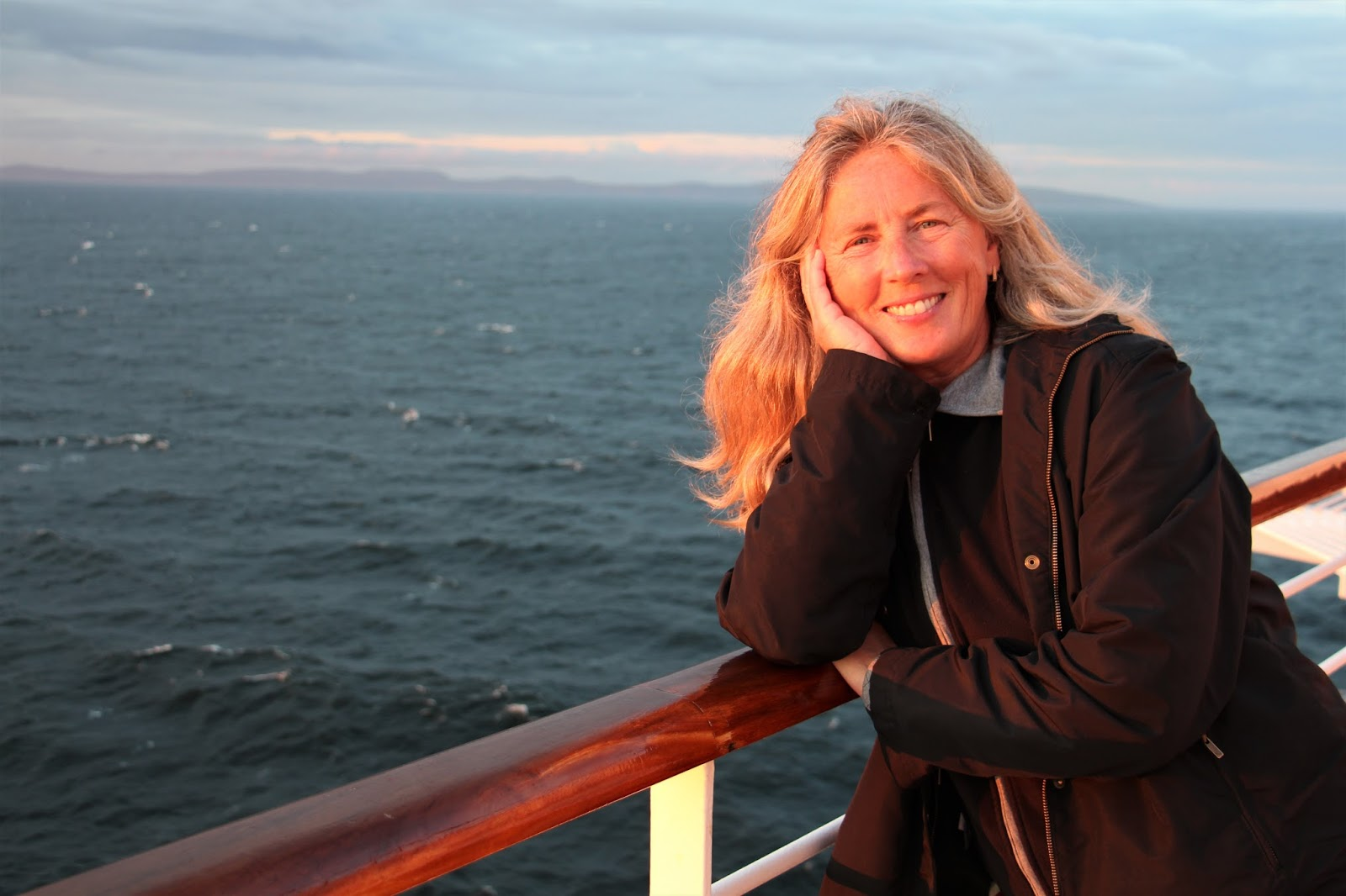 Holland America Baltic Cruise. Photograph of Janie Robinson, Travel Writer
