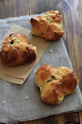 tradition autrichienne de Pâques , brioche aux raisins secs