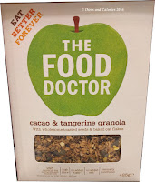 The Food Doctor Cacao & Tangerine Granola