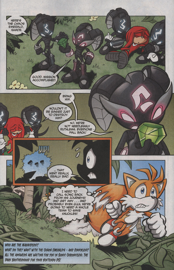 Read online Sonic The Hedgehog comic -  Issue #191 - 25