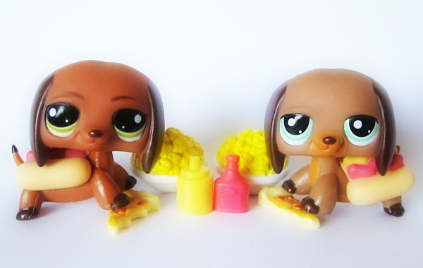 Littlest Pet Shop Lps Blogi Hot Dog Mäyräkoirat Hot Dog Dachshunds