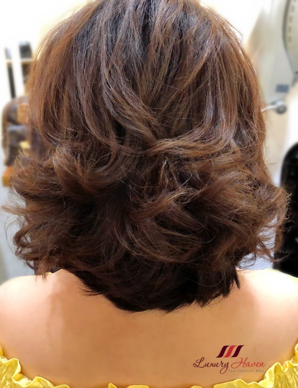 h4u salon asian short hair curls