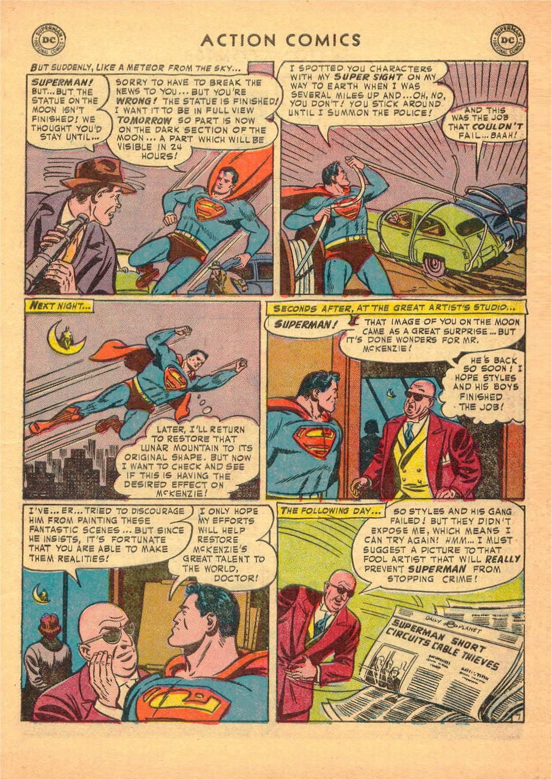 Action Comics (1938) 170 Page 8