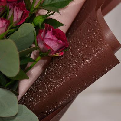 Kertas Buket Bunga / Flower Bouquet Wrapping Paper (Seri FLS)