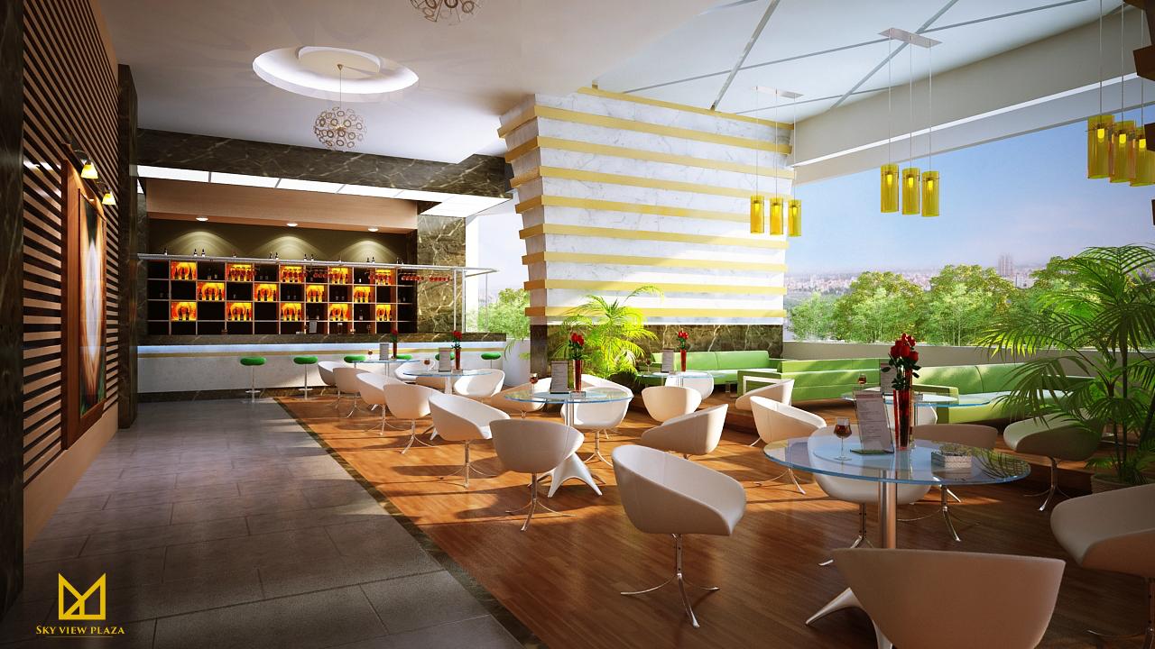 Nhà hàng sang trọng của chung cư Sky View Plaza