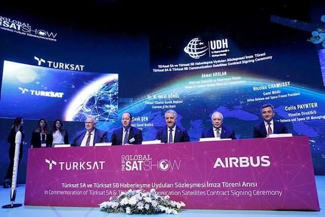 Türksat A.Ş ile Airbus