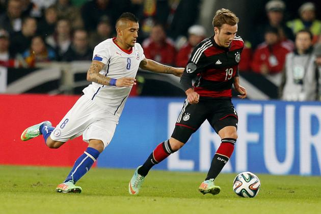 Germany vs Chile Live Stream