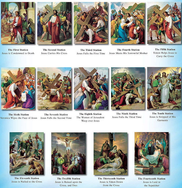 Catholic News World : What are the Stations of the #Cross ...