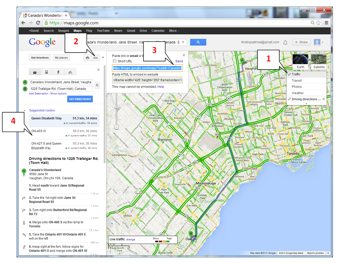 Save time, check traffic - Part 1 ~ Finding Optimal on google points of interest, google plan route, google car route, united states map route, apple map route, iphone map route, google maps russia, world map route,