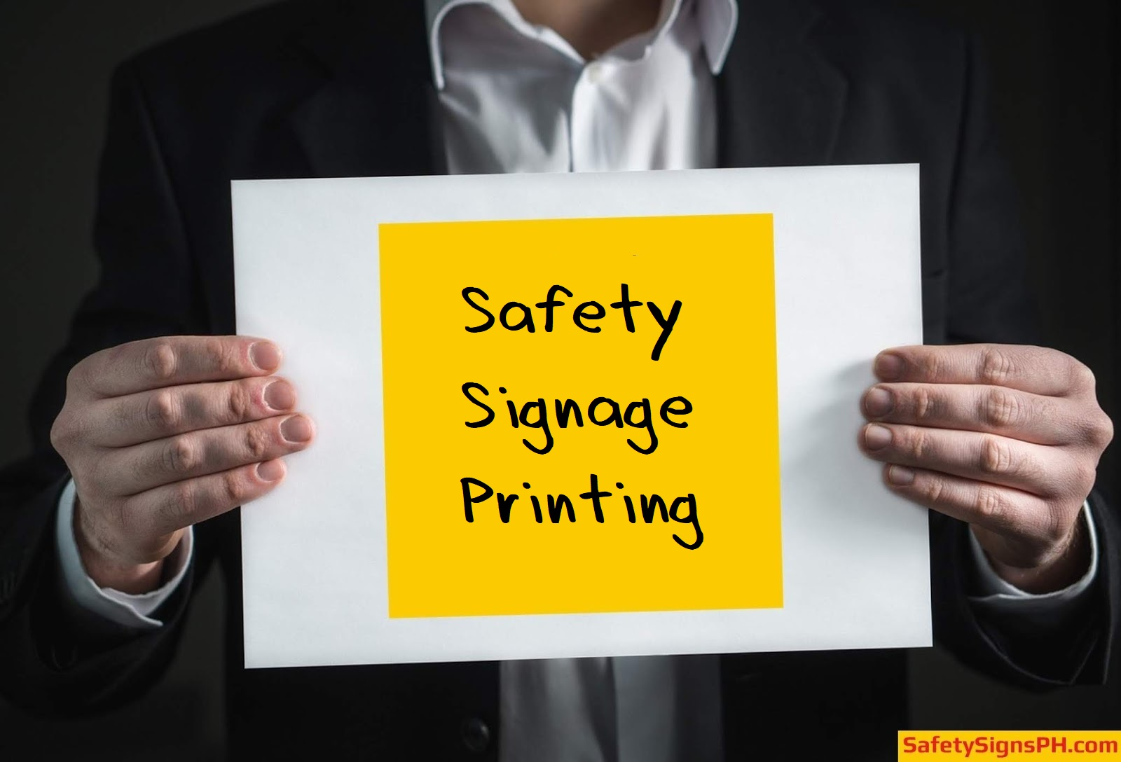 Safety Signage Printing Services Philippines