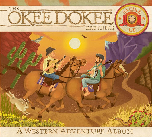 The Okee Dokee Brothers Saddle Up: A Western Adventure Album Review and Giveaway