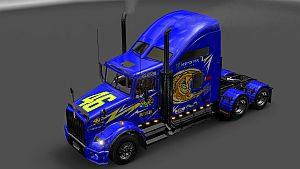 Rossi skin for Kenwoorth T800
