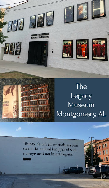 The Legacy Museum 115 Coosa St, Montgomery, AL 36104