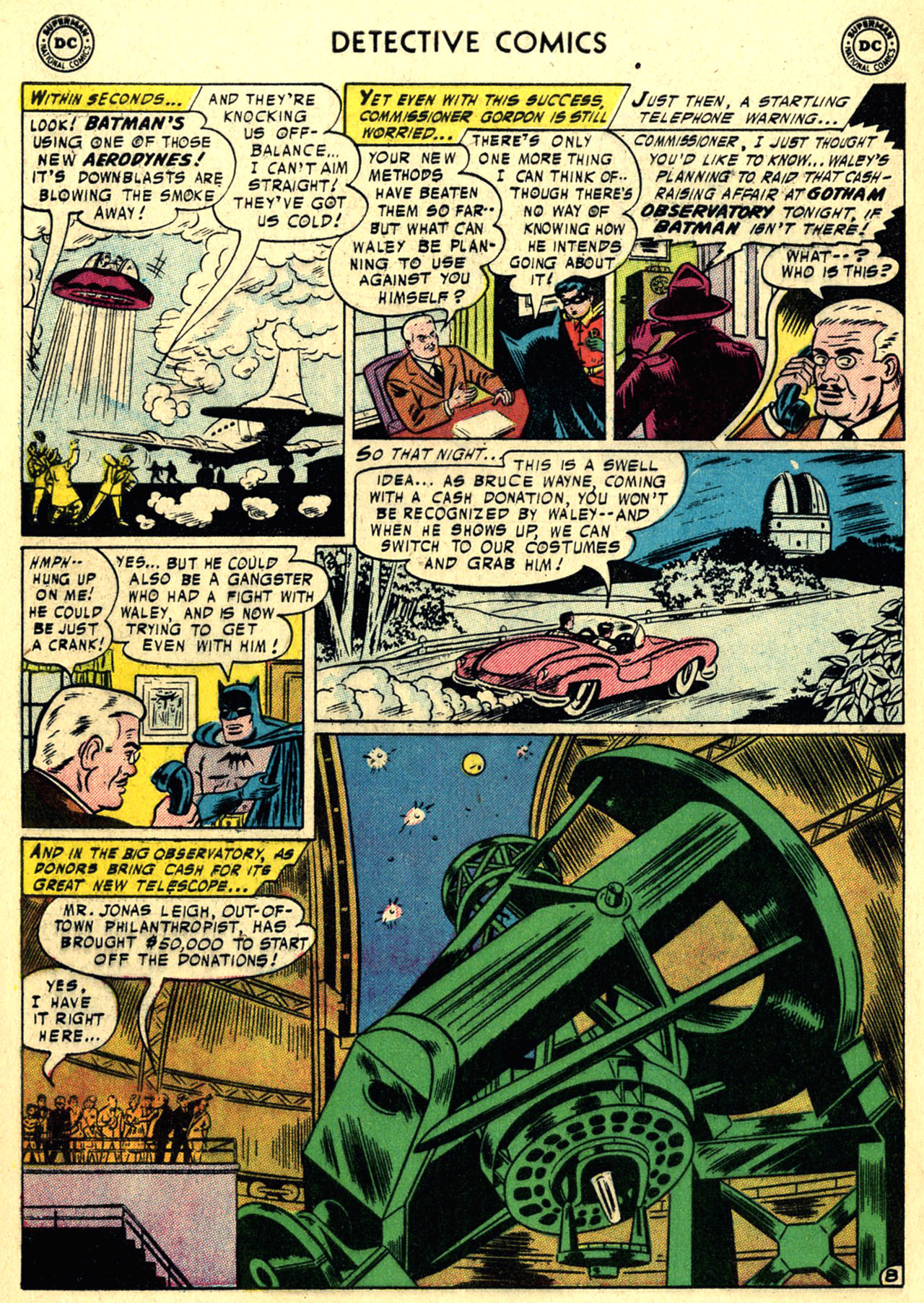 Read online Detective Comics (1937) comic -  Issue #236 - 10
