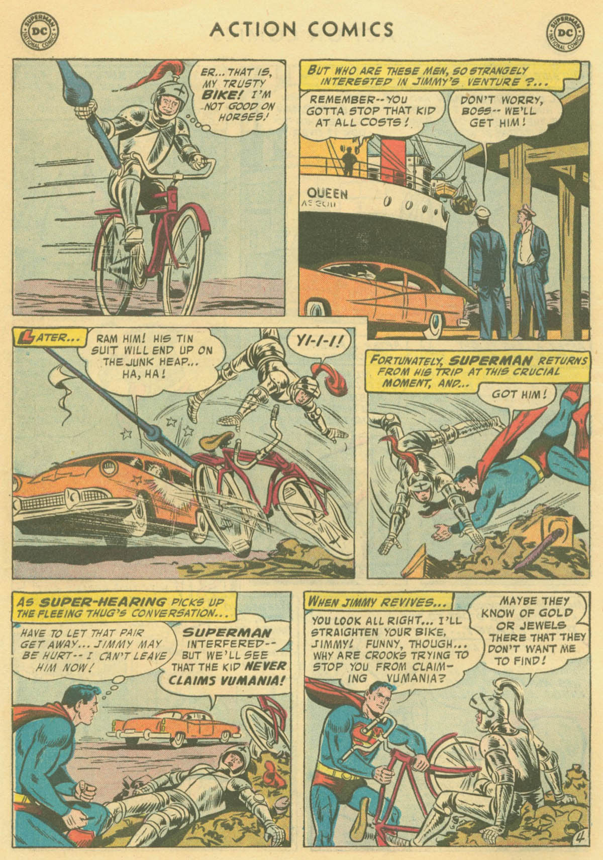 Read online Action Comics (1938) comic -  Issue #231 - 6