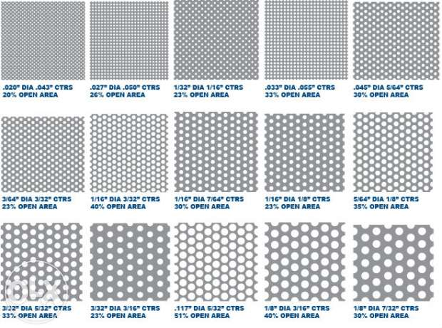 Besi Plat Bolong Daftar Harga Plat Perforated ~ Pt Nicon Steel