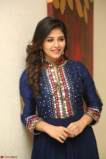 Anjali looks super cute at Chitrangada Pre Release Function March 2017 041.JPG