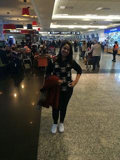 No aeroporto de Buenos Aires - Aeroparque