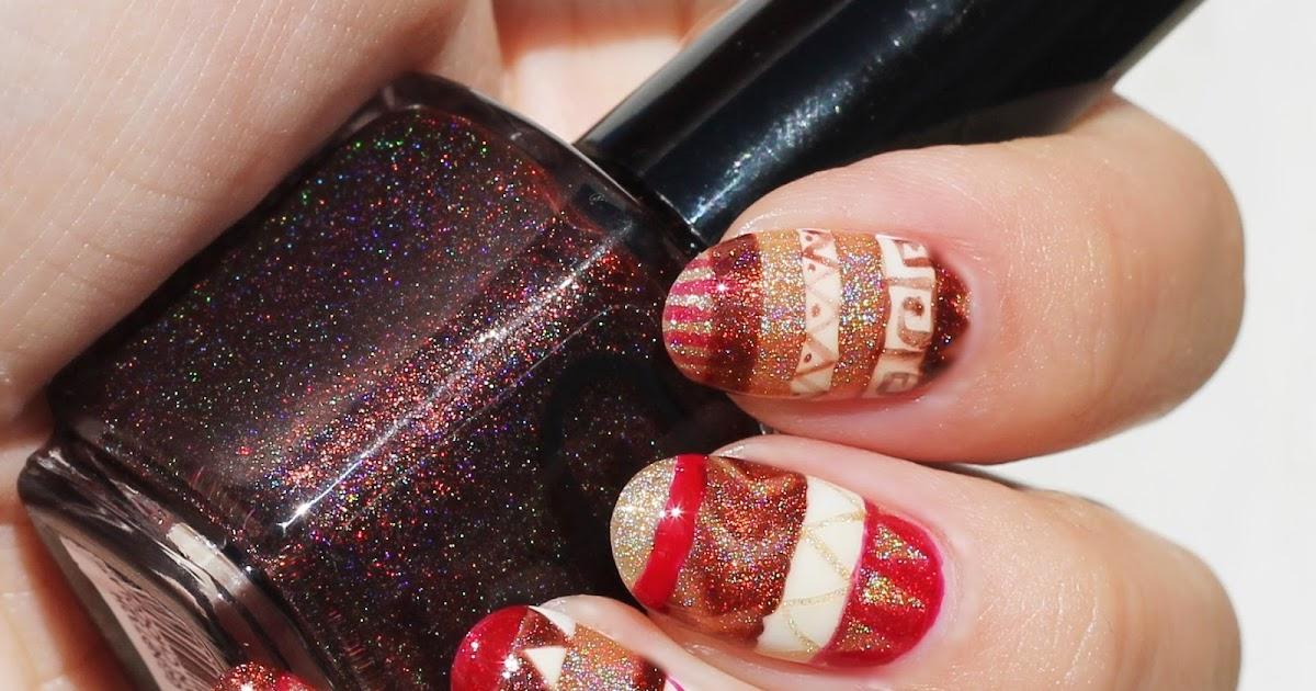 Glitter Gal Pysanky Nails Makeup Withdrawal