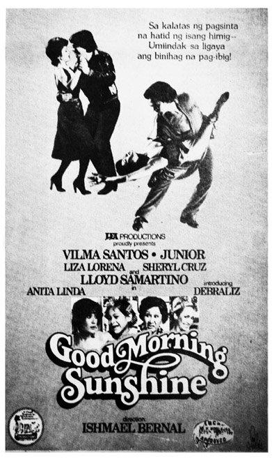 Good Morning Sunshine Vilma Santos : Pelikula atbp lea productions filmography