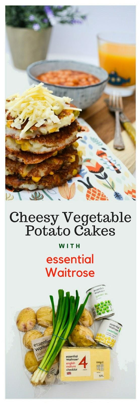 Easy Cheesy Vegetable Potato Cakes