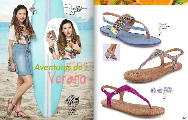 sandalias planas de moda