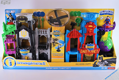 Imaginext DC Super Friends DC Super Friends Super Hero Flight City Batman Superman