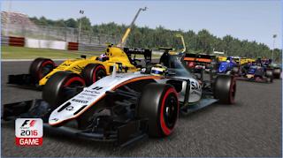 F1 2016 Mod Apk Full Speed