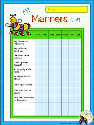 My Manners Chart