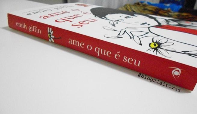 Ame o que é seu resenha livro