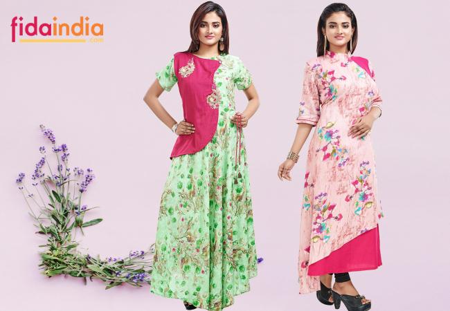 Online Shopping Women Fashion Designer Clothing Store Kolkata Top 6 Designer Kurtis Which Are Must For This Festive Seasons