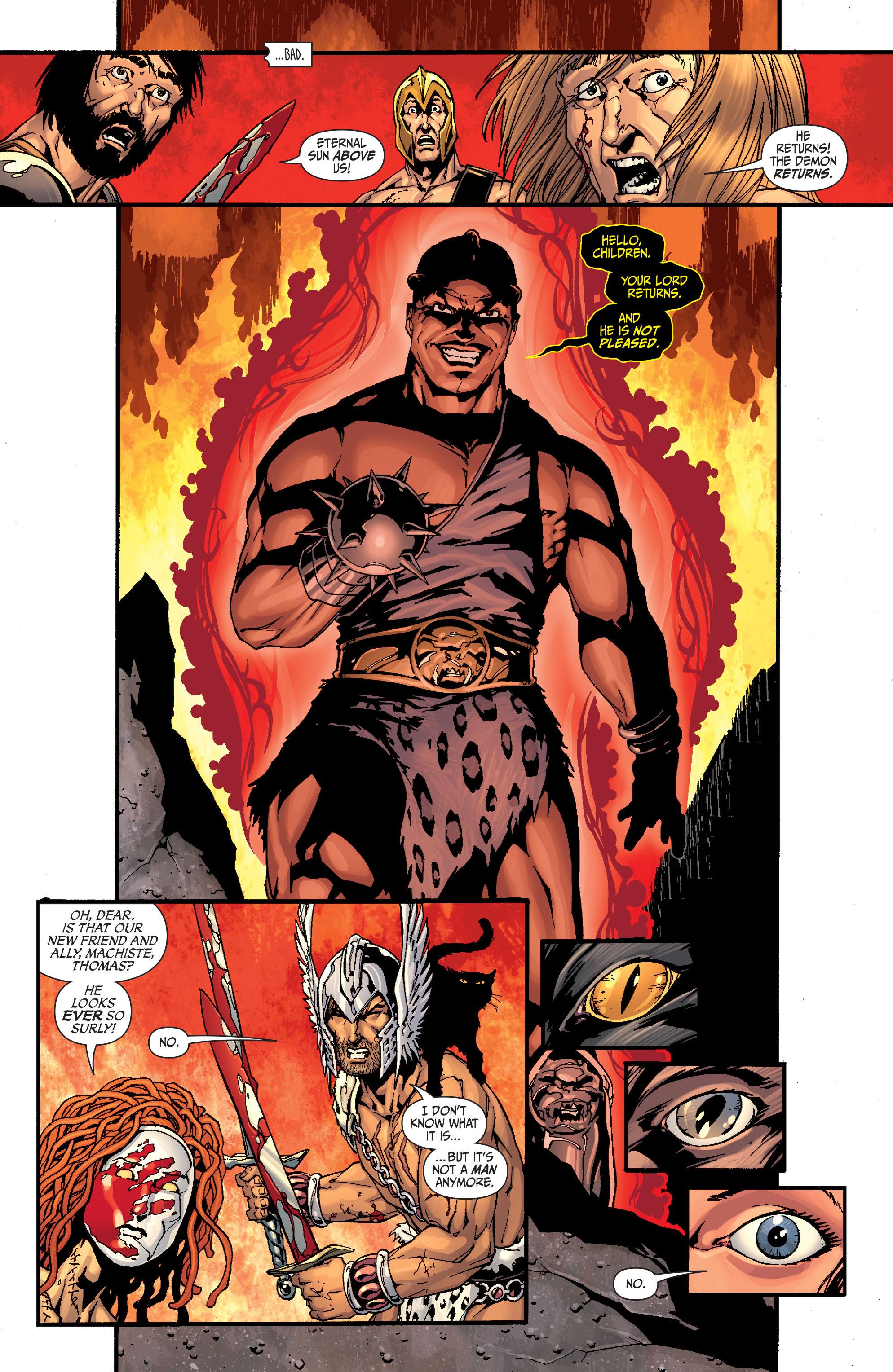 Read online Secret Six (2008) comic -  Issue #28 - 6