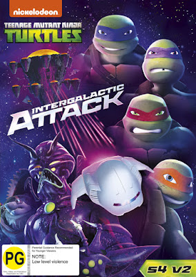 TMNT Intergalactic Attack 2016 DVD R4 NTSC Latino
