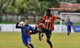 Perseru Serui vs Persib Bandung 2-1