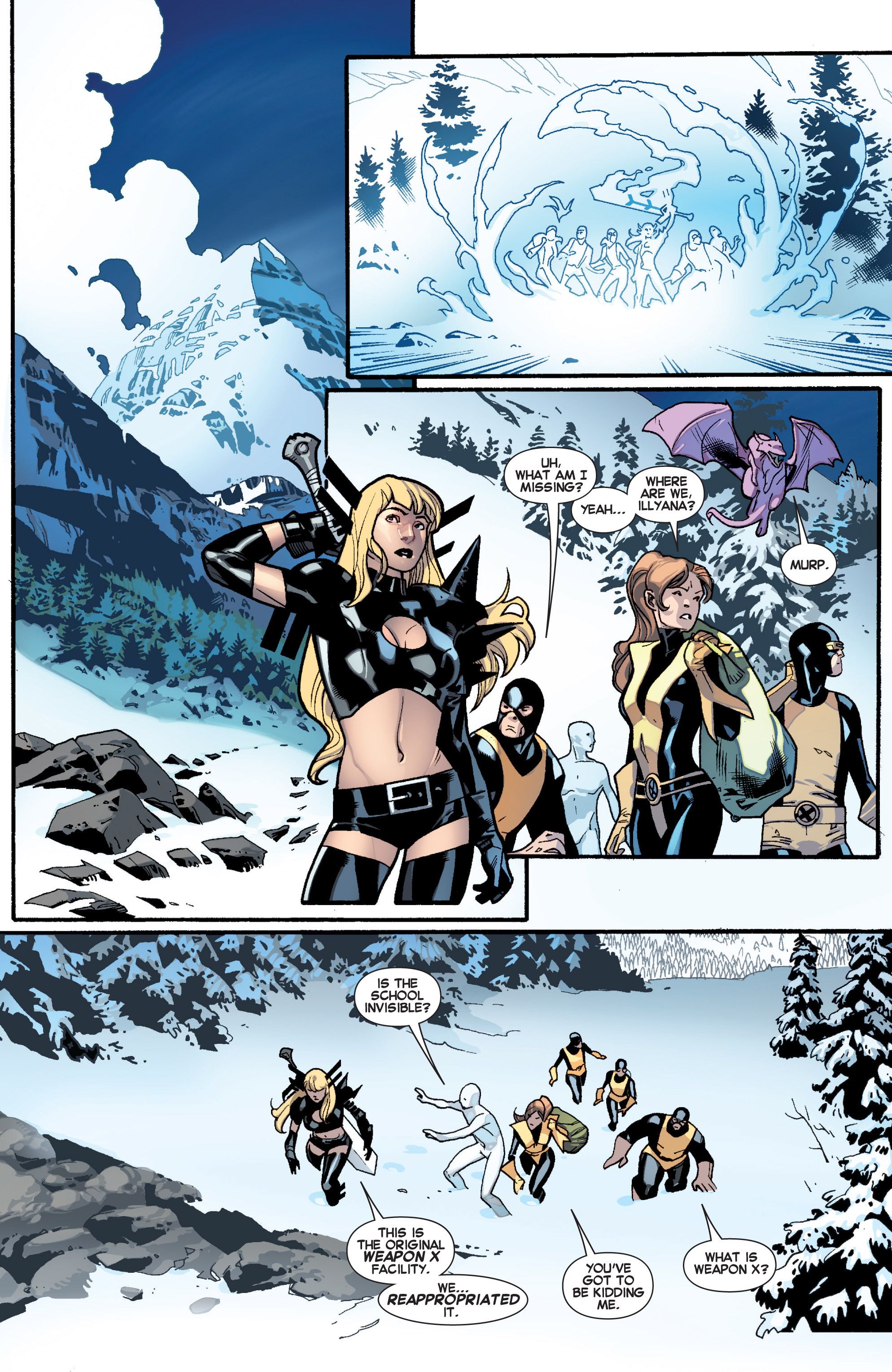 Read online All-New X-Men (2013) comic -  Issue # _Special - All-Different - 5