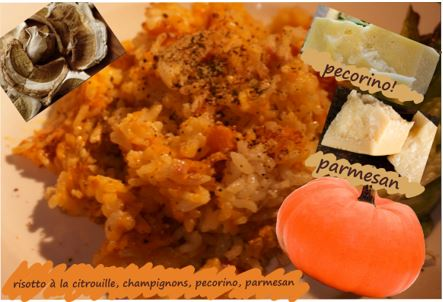 risotto de Thanksgiving
