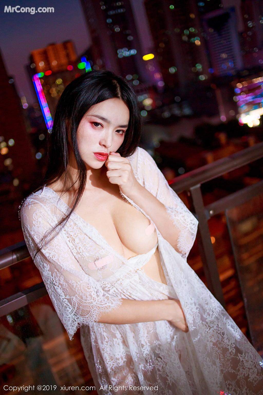 Image XIUREN-No.1715-Jin-Jing-Xi-MrCong.com-010 in post XIUREN No.1715: Jin Jing Xi (金静熙) (51 ảnh)