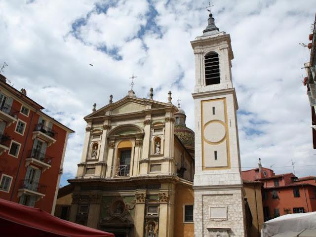 Fachada Catedral de Nice