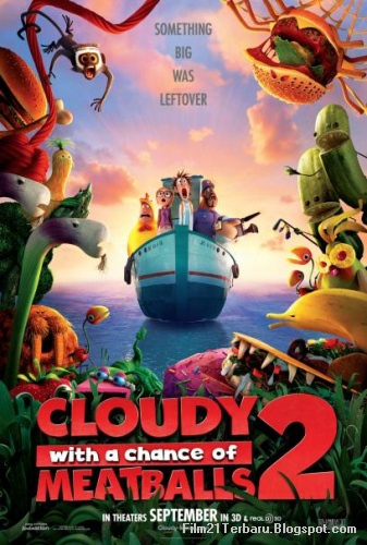 Film Cloudy with a Chance of Meatballs 2 2013