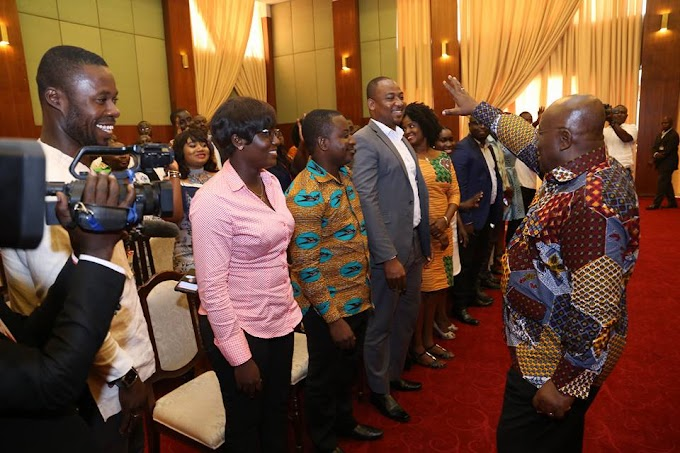 You Have Been Objective in Your Reportage - President Akufo Addo to Press Corps