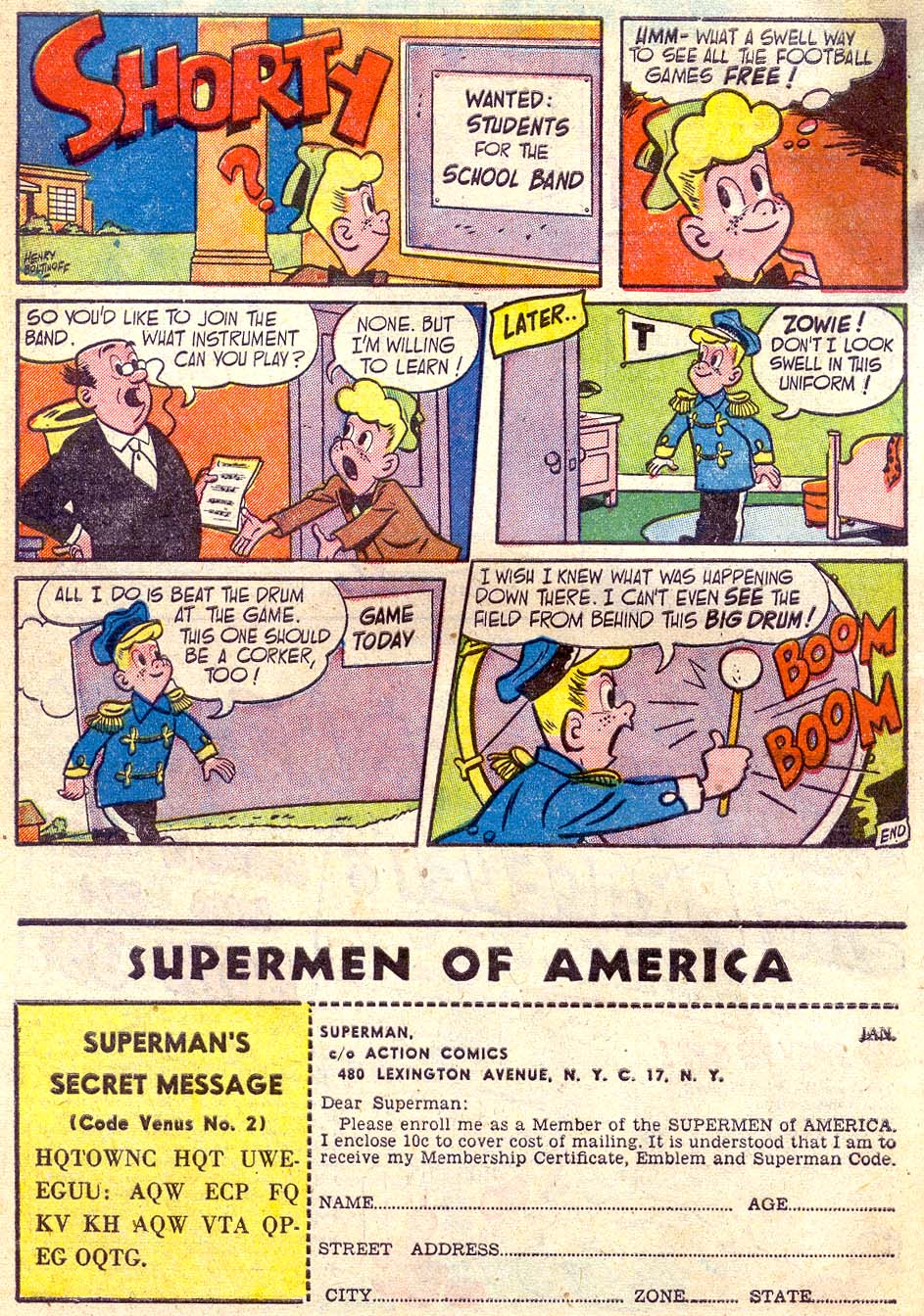Read online Action Comics (1938) comic -  Issue #164 - 42