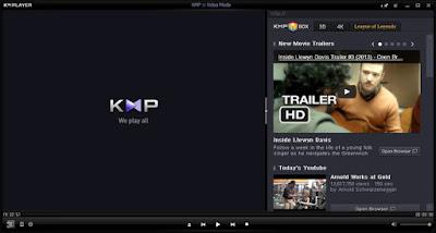 KM player interface