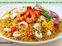 Resep mudah cara membuat Nasi Goreng Jagung Manis spesial ala Chef Juna