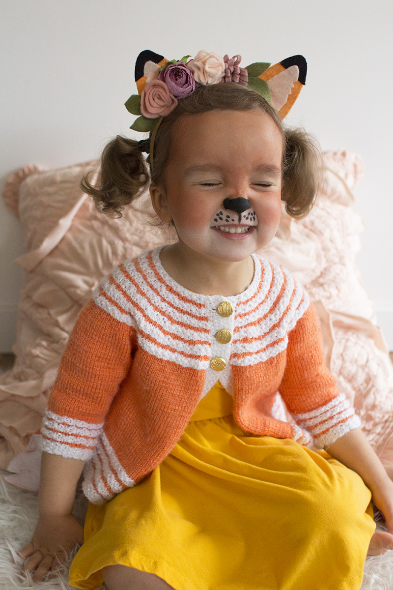 DIY Fox Toddler Costume