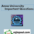 Anna University Important Questions 2013 - Anna Univ Even Semester Important Questions May /June 2013 Exams