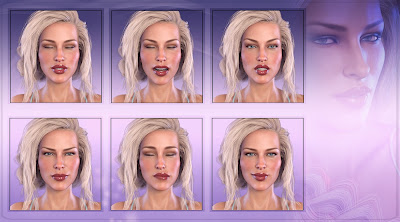 Z Subtle Beauty - Morph Dial and One-Click Expressions for Victoria 8