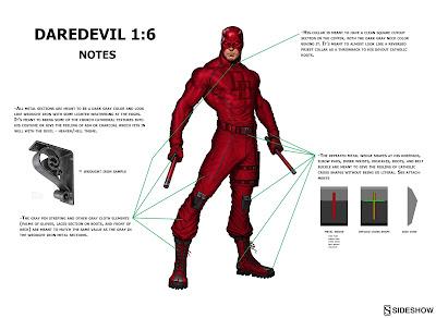 osw.zone Sideshow presents 1 / 6. scale Marvel Comics Matt Murdock Daredevil 12-inch collector figure